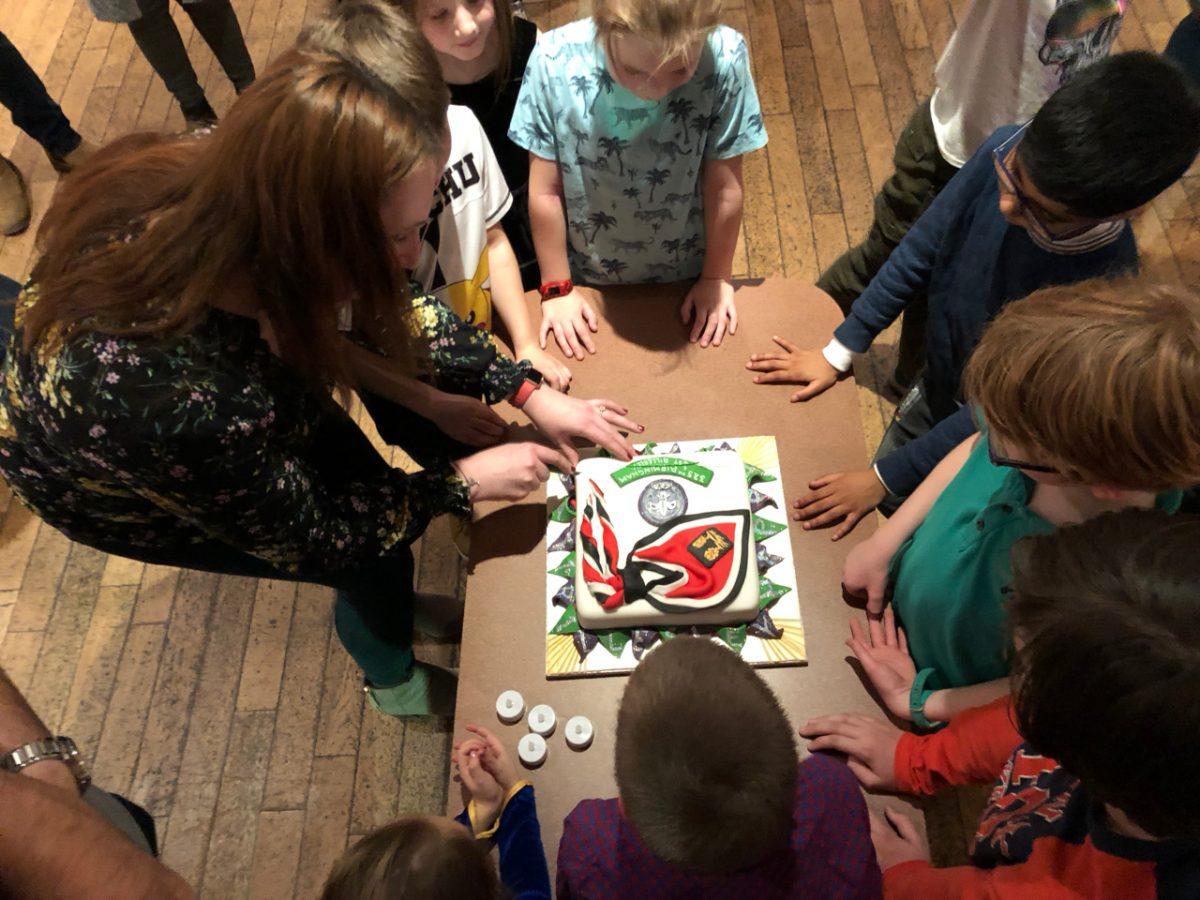 5th Birthday Cake Cutting