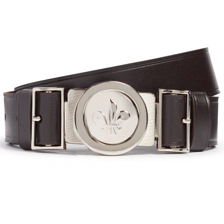 Leather Belt and Buckle Set
