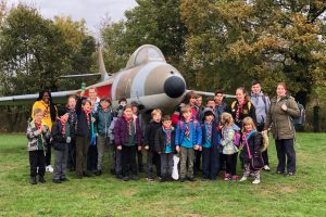 Billesley Scout Group visiting RAF Cosford