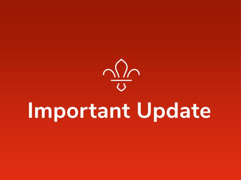 Important Update